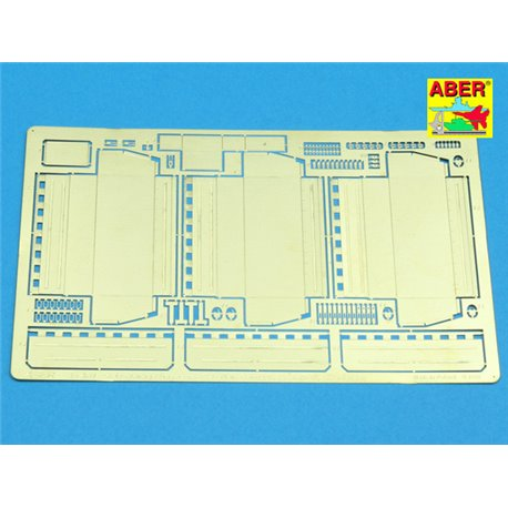 ABER 35 A61 1/35 Side storage boxes for Cromwell, Centaur