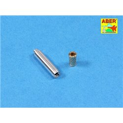 ABER 35 L-117 1/35 Barrel for Italian 75mm Ansaldo L/18 gun for Semovente da 75/18 M40 for Italeri Model