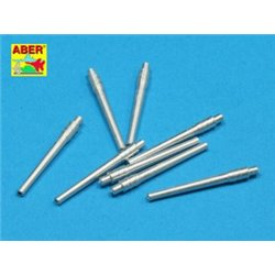 ABER 1:350 L-35 1/350 Set of 8 pcs 356mm (14in) L45 Vickers type 41 barrels for Kongo, Haruna, Hiei, Kirishima