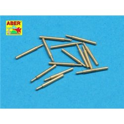 ABER 1:350 L-36 1/350 Set of 14 pcs 152mm (6in) L50 Vickers Mk.M type 41 barrels for Kongo, Haruna, Hiei, Kirishima, Fuso, Yamas