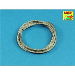 ABER TCS 25 Stainless Steel Towing Cables fi 2,5mm, 125 cm long for Universal set