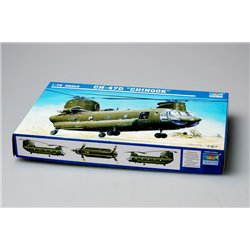 TRUMPETER 01622 1/72 CH 47D Chinook