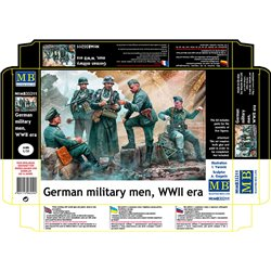 MASTERBOX MB35211 1/35 German military men, WWII era