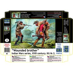 "MASTERBOX MB35210 1/35 ""Wounded brother"""