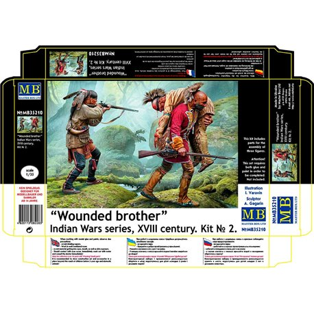 """MASTERBOX MB35210 1/35 """"Wounded brother"""""""