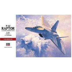 HASEGAWA 07245 1/48 US Air Force Air Superiority Fighter F-22 Raptor