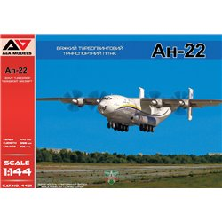 A&A MODELS 4401 1/144 An-22 Heavy Turboprop Transport Aircraft