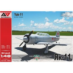 A&A MODELS 4801 1/48 Yakovlev Yak-11 Military Trainer