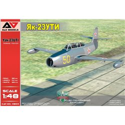 A&A MODELS 4804 1/48 Yakovlev Yak-23 UTI Military trainer