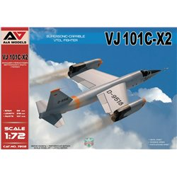 A&A MODELS 7202 1/72 VJ101C-X2 Supersonic-capable VTOL fighte