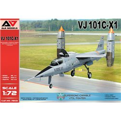 A&A MODELS 7203 1/72 VJ101C-X1 Supersonic-capable VTOL fighte