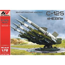 """A&A MODELS 7215 1/72 S-125""""Neva""""Surface-to-Air Missile System"""