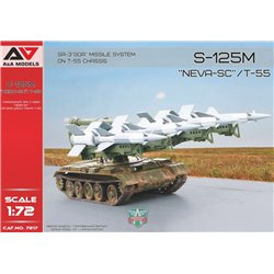 """A&A MODELS 7217 1/72 S-125M """"Neva-SC""""/T-55 SA-3 """"GOA"""" Missile System on T-55 chassis"""
