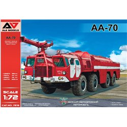 A&A MODELS 7219 1/72 AA-70 Firefighting truck