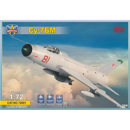 MODELSIVT 72001 1/72 Sukhoi Su-7BM Soviet fighter-bomber,Re-r