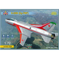 MODELSIVT 72009 1/72 Sukhoi Su-22I (Su-7IG) Su-7BM with wings