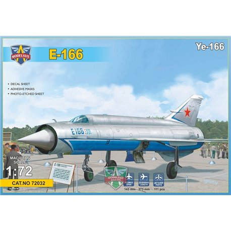 MODELSIVT 72032 1/72 Ye-166 Heavy experimental interceptor
