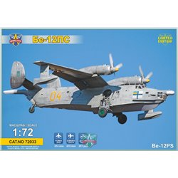 MODELSIVT 72033 1/72 Beriev Be-12PS Search&Rescue vers.
