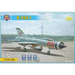 MODELSIVT 72036 1/72 Ye-152-1 Experimental supersonic interceptor
