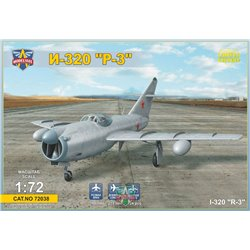 "MODELSIVT 72038 1/72 I-320""R-3"" All-weather interceptor prototype"