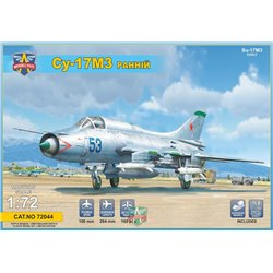 MODELSIVT 72044 1/72 Sukhoi Su-17M3 Early vers. advanced fighter