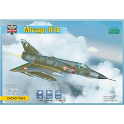 MODELSIVT 72045 1/72 Mirage IIIE Fighter-Bomber