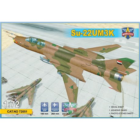MODELSIVT 72051 1/72 Su-22UM3K advaced two-seat trainer (Export vers.)