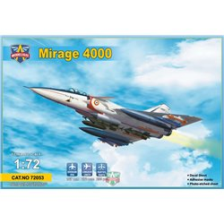 MODELSIVT 72053 1/72 Mirage 4000 (with 3 new sprues-armament)