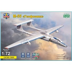 MODELSIVT 72055 1/72 M-55 Geophysica research aircraft,Limited Edition