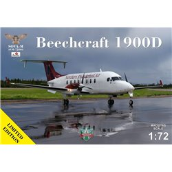 SOVA-M 72004 1/72 Beechcraft 1900D Northern Thunderbird Air C-FDTR