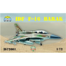 "SKALE WINGS IS72001 1/72 IDF F-16 ""Barak"""
