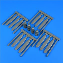 QUICKBOOST QB32258 1/32 B-24J Liberator propeller for Hobby Boss