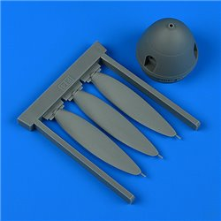 QUICKBOOST QB32255 1/32 Bf 109F-4 propeller for Revell