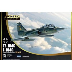 KINETIC K48089 1/48 TF-104G GERMAN AIRFORCE