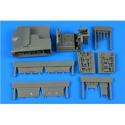 AIRES 4825 1/48 Sea Harrier FRS.1/FA.2 wheel bay for Kinetic