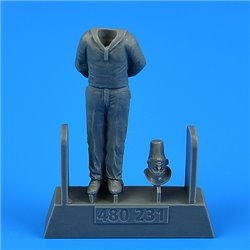 AEROBONUS 480.231 1/48 Kriegsmarine WWII Ceremony - Sailor for German Submarine U-Boat Type VIIC