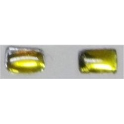 ARTISAN32 04370_J 1/32 Pastille de Phare rectangle x 2 A 1.0 mm - B 3.0 mm Jaune