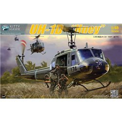KITTY HAWK 80154 V2 1/48 UH-1D Huey Version 2.0