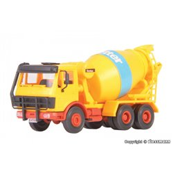 KIBRI 12501 1/87 MB concrete mixer 2626 AB, 2 pieces