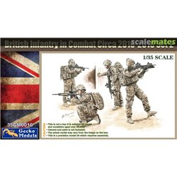 GECKO MODELS 35GM0016 1/35 Infantry in Combat Circa 2010-2016