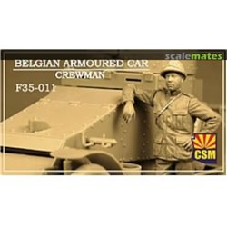 COPPER STATE MODEL CSM F35011 1/35 Belgian Armoured car crewman