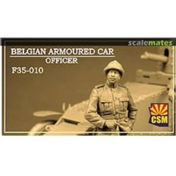 CSM F35010 1/35 Belgian Armoured car officer