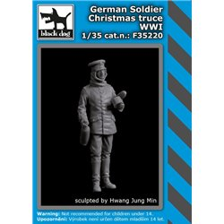 BLACK DOG F35220 1/35 German soldier Christmas truce WWI