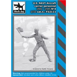 BLACK DOG F32111 1/32 U.S. NAVY aircraft carrier personnel 1941-45 N4