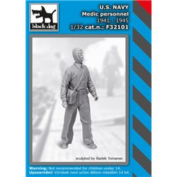 BLACK DOG F32101 1/32 US NAVY medic personel 1941-45