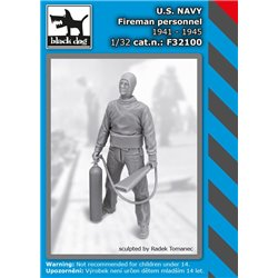 BLACK DOG F32100 1/32 US NAVY fireman personel 1941-45