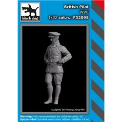 BLACK DOG F32095 1/32 British pilot WWI