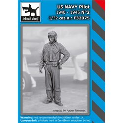 BLACK DOG F32075 1/32 US NAVY pilot 1940-45 N2