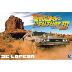 AOSHIMA BEEMAX 05918 1/24 Back to the Future III DeLorean