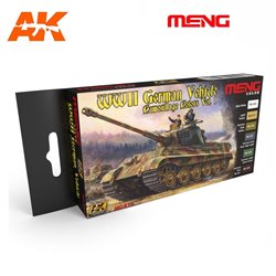 AK INTERACTIVE MC813 WWII GERMAN VEHICLE CAMOUFLAGE COLORS VOL.1